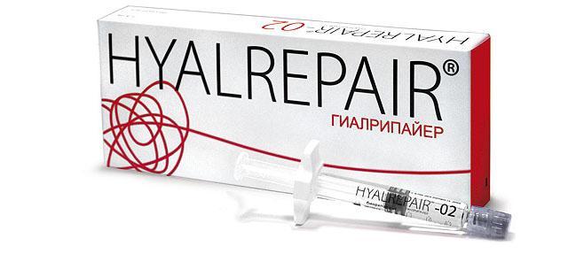Гиалрипайер - линейка препаратов для биорепарации и мезолифтинга