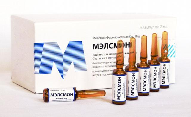 Drug Melson (Melsmon) - its application and effect in cosmetics