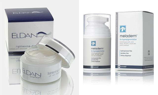 Крема для отбеливания кожи