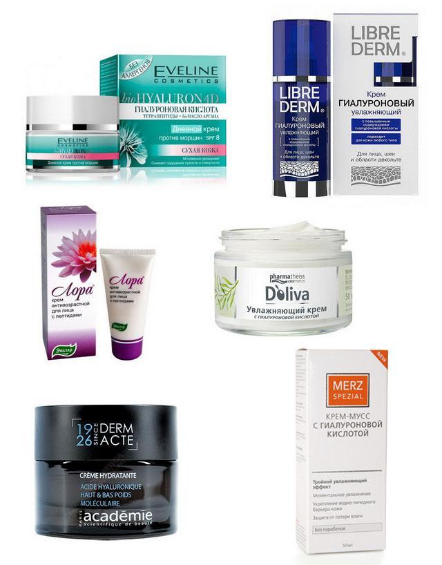 Крем с гиалуроновой кислотой – как выбрать из такого разнообразия брендов?