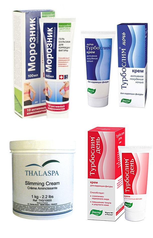 Крем для похудения: самые популярные продукты и их действительная эффективность
