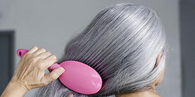 причины седины волос