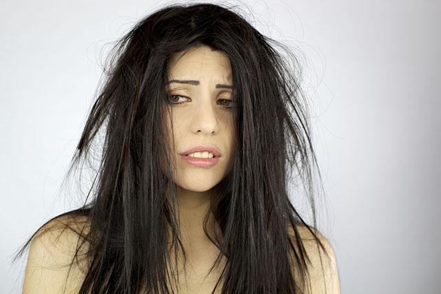 Что делать если волосы сухие