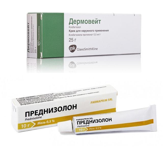 Гормональный крем от дерматита