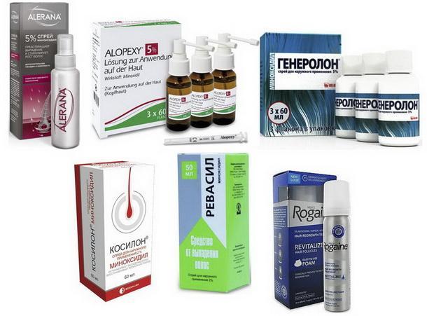 Восстановление роста волос при помощи медикаментозных, косметических и народных средств