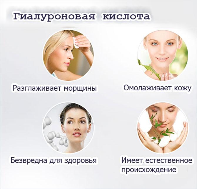 Косметика на основе кислоты