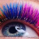 Технология цветного наращивания ресниц — правила ухода
