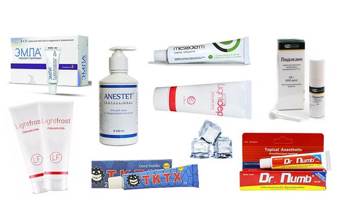Средства по уходу за кожей после эпиляции